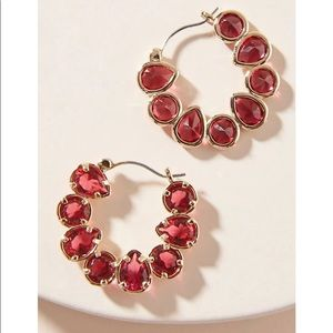 Anthropologie Margot Hoops